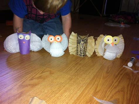toilet paper owl craft diy owl crafts with toilet paper rolls craft ideas with