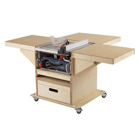 woodworking table saws convert tablesaw router station woodworking plan