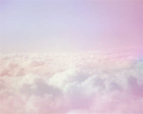 items similar to dreamy pastel clouds sky photo print