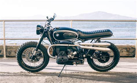 Bmw R100 by Aj S Bmw R100 Scrambler The Bike Shed