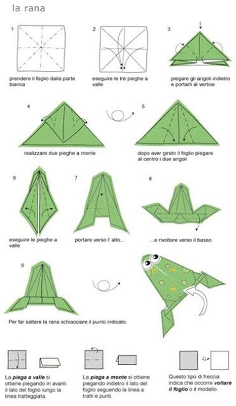 rana origami 17 migliori idee su rana origami su