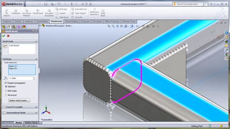fillet bead solidworks solidworks 2011 weld bead part 1 ricky s