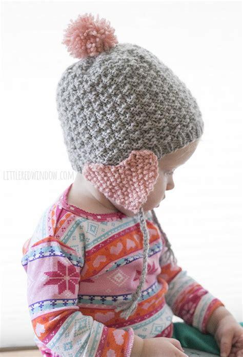 loom knit earflap hat pattern earflap hat allfreeknitting