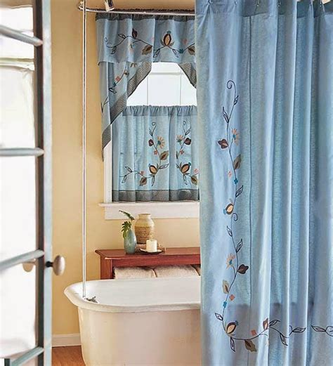bathroom curtain sets for showers and windows bathroom window shower curtain window treatments design