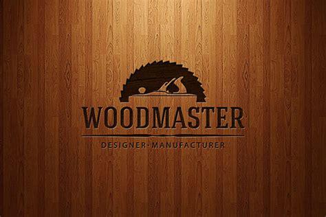 woodworks company wood master logo on behance