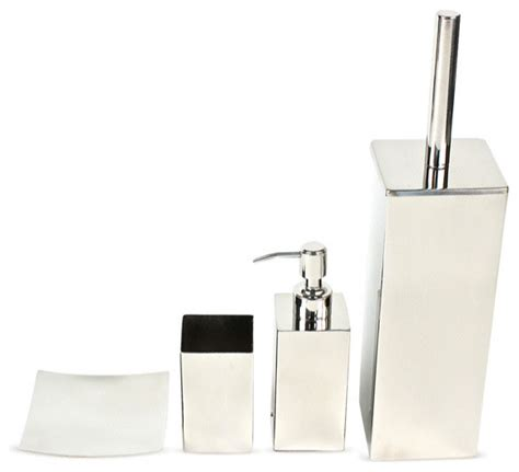 chrome bathroom accessories sets shop houzz nameeks polished chrome bathroom accessory