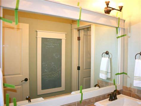 bathroom mirror frame ideas bathroom bathroom mirror frames ideas wood framed