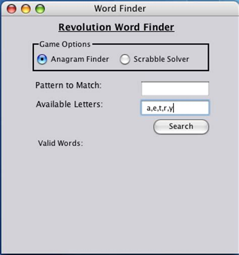 scrabble anagram word finder revolution newsletter