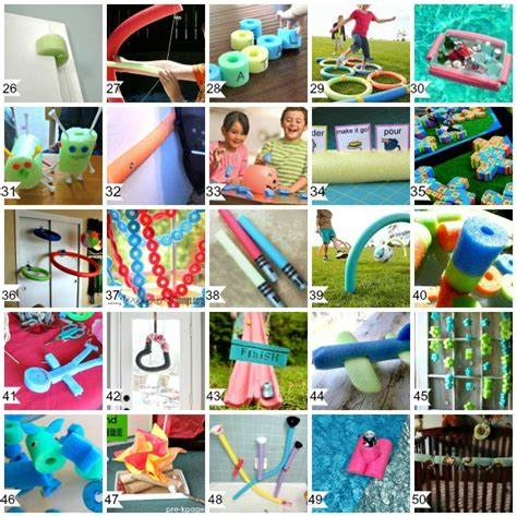 craft to do with 50 cool things to do with pool noodles diy pool noodle