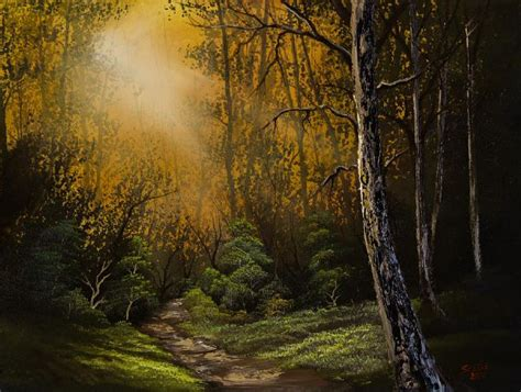 bob ross painting on black canvas 1000 images about paintings on forest