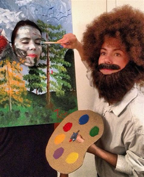 bob ross painters glove these are the best couples costume ideas