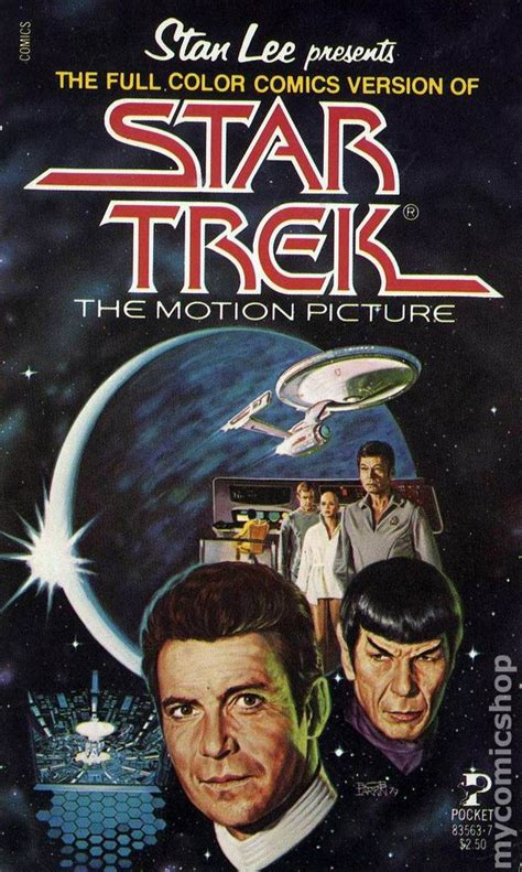 the motion picture book trek the motion picture pb 1980 comics version