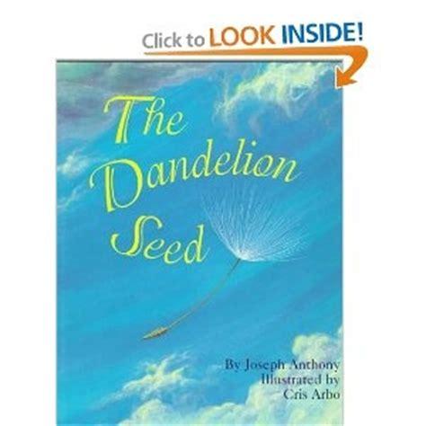 dandelion picture book dandelion book for children science activities for