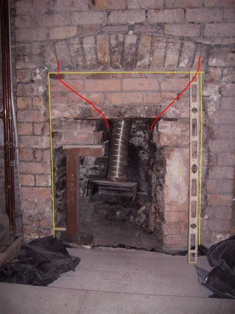 up fireplace opening up a fireplace diynot forums