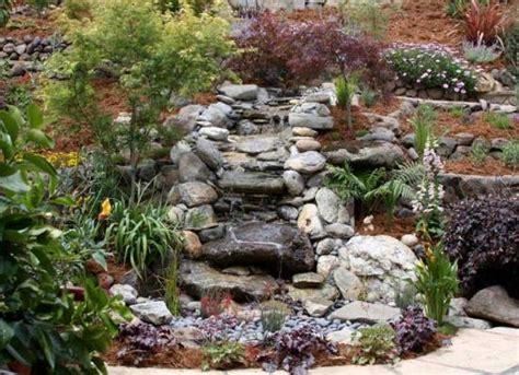 rock garden features 50 garden decorating ideas using rocks and stones