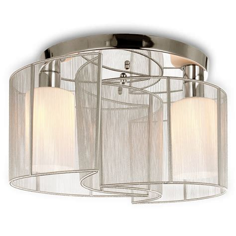 semi flush dining room light dining room bedroom 2 light semi flush mount ceiling light with glass shade and cloth cover
