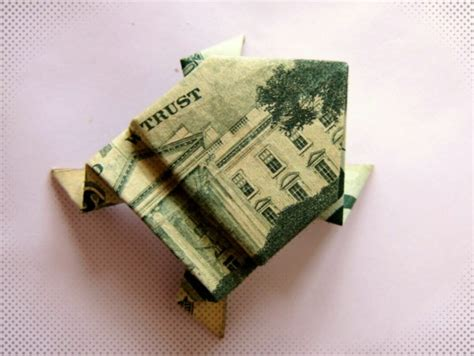 origami money frog dollar bill origami frog origami d