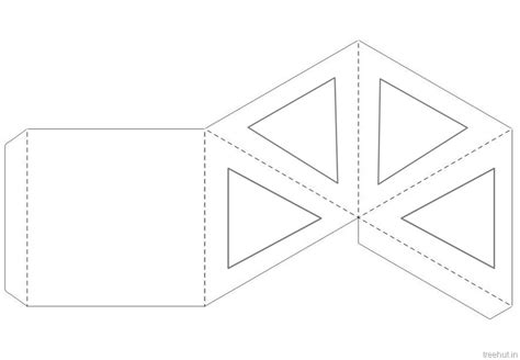 paper lantern craft template diwali craft pyramid paper lantern template