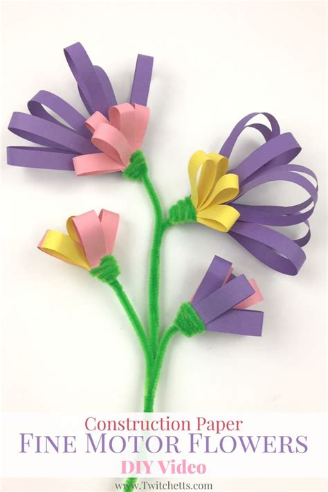 crafts to make out of construction paper 17 best ideas about construction paper flowers on