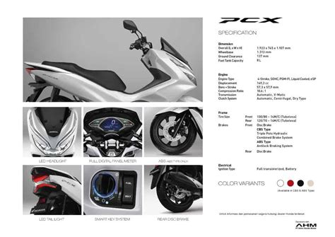 Pcx 2018 Honda Cengkareng by Motor Honda Pcx 150 Exceed Excellence Honda Cengkareng