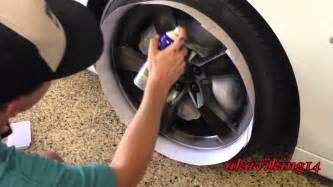 spray paint your rims black how to plastidip wheels akaviking14