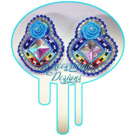 bead store ta beautiful beaded earrings pow wow style swag glam