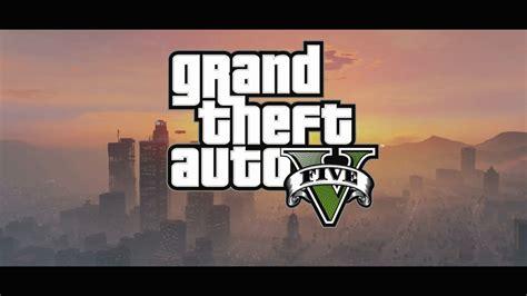 grand theft auto v gta 5 logo cloud wallpaper ps3blog net