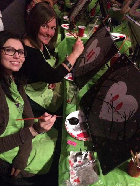 paint nite yorkton paint nite socializes the