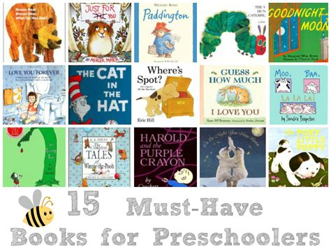 picture books for preschoolers 15 must books for preschoolers liz