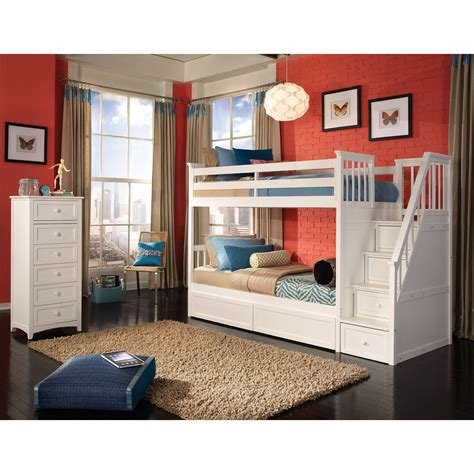 bunk bed with stairs and desk bedroom bunk beds with stairs and desk and slide tv