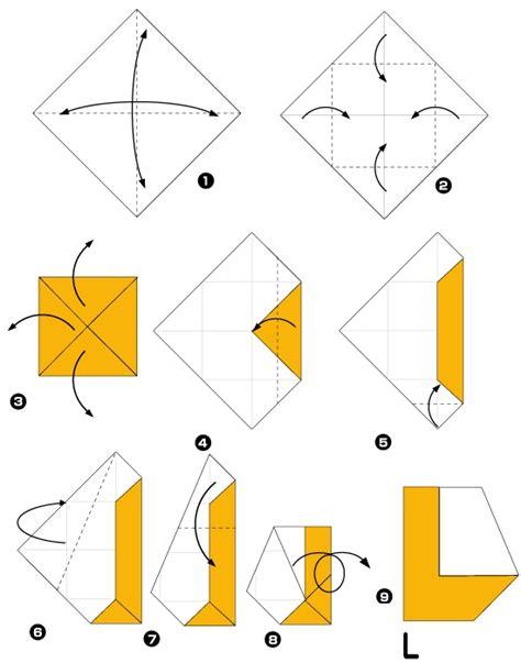 Origami Da Letra L