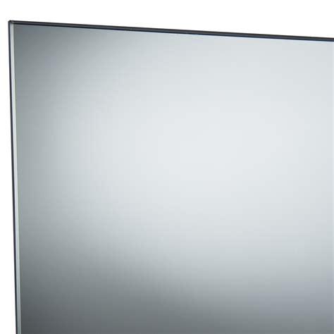 flat bathroom mirrors everton 2100 x 900mm polished flat edge mirror bunnings