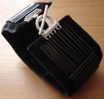 black bugle black bugle bead cuff jewelry journal
