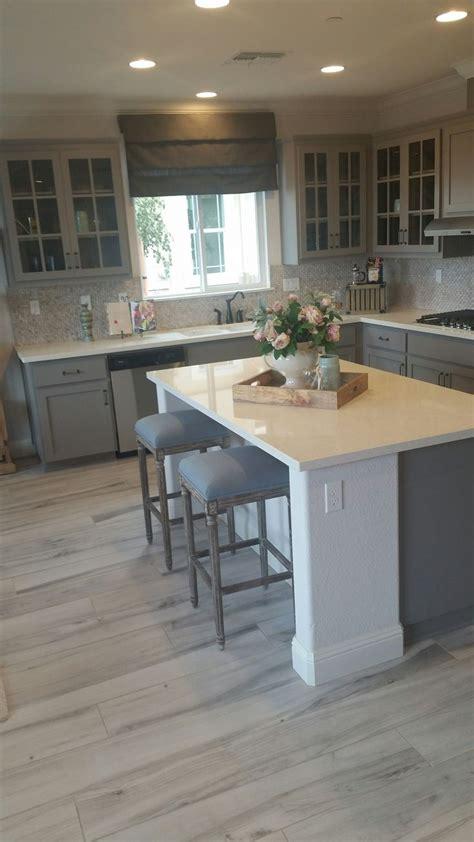 grey wood floors kitchen best 25 gray kitchen countertops ideas on