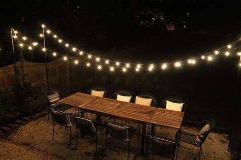 backyard lights string diy projects elizabeth burns design raleigh nc interior