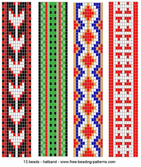 loom bead patterns free patterns beading loom patterns
