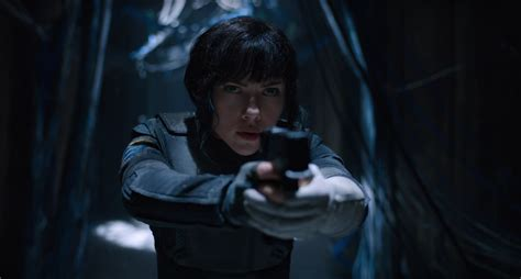 ghost in shell ghost in the shell remake trailer shoots up the screen