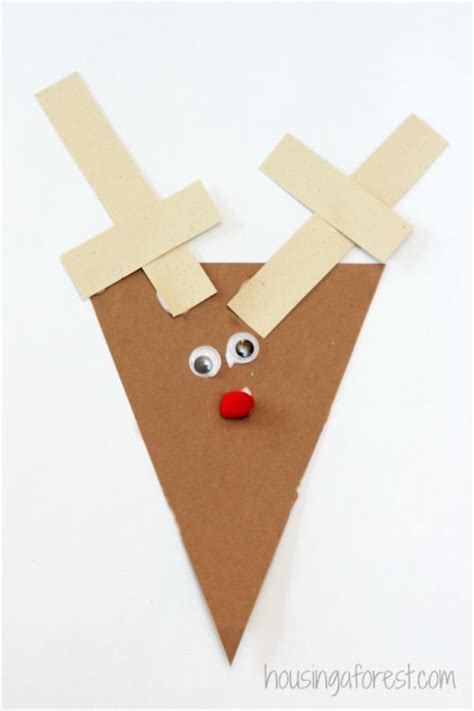 easy reindeer crafts for simple reindeer craft housing a forest