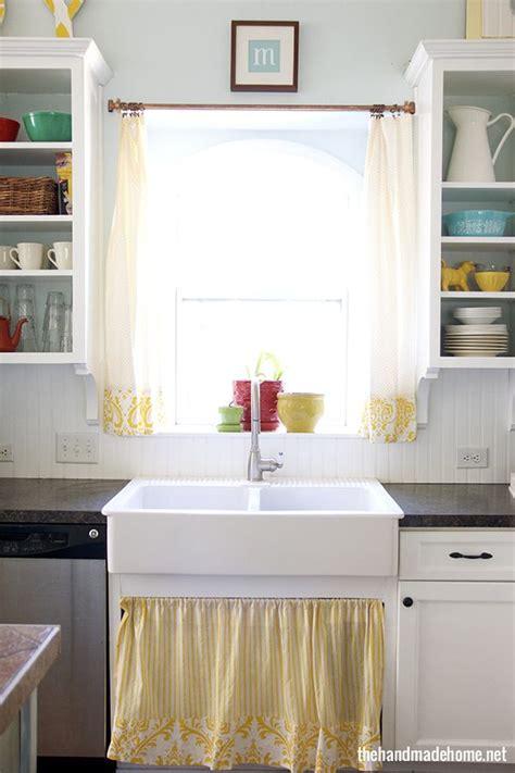 the sink kitchen curtains 7 best curtain kitchen sink images on