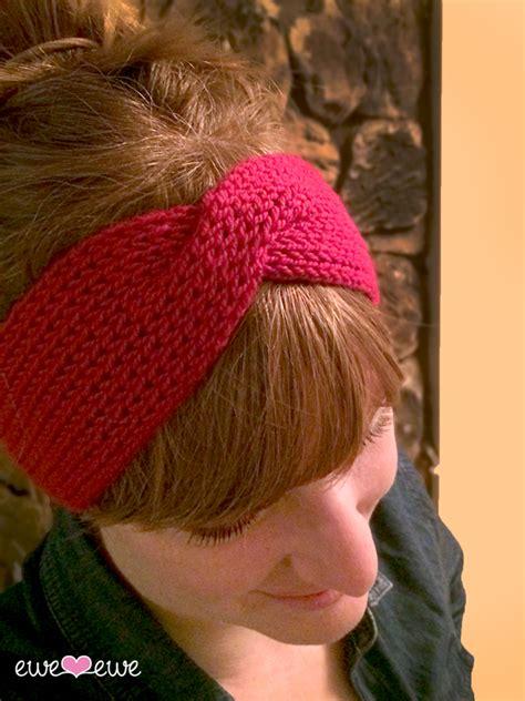 free knitted headband patterns mess headband free knitting pattern ewe ewe yarns