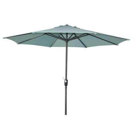 garden treasures patio umbrella shop garden treasures patio umbrella common 105 in w x 105 in l actual 105 in w x 105 in l