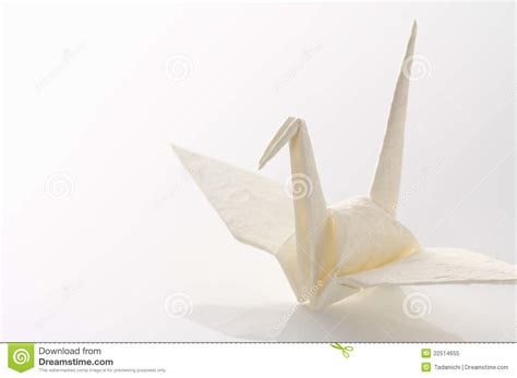origami white paper white origami crane royalty free stock photo image 22514655