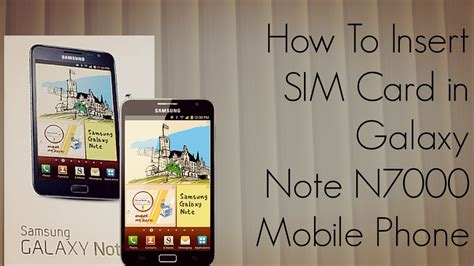 how to make a sim card into a micro sim how to insert sim card galaxy note n7000 mobile phone