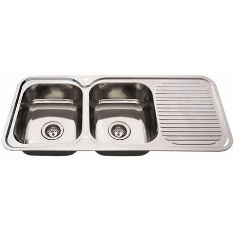 everhard kitchen sinks everhard 1180mm nugleam bowl left kitchen sink