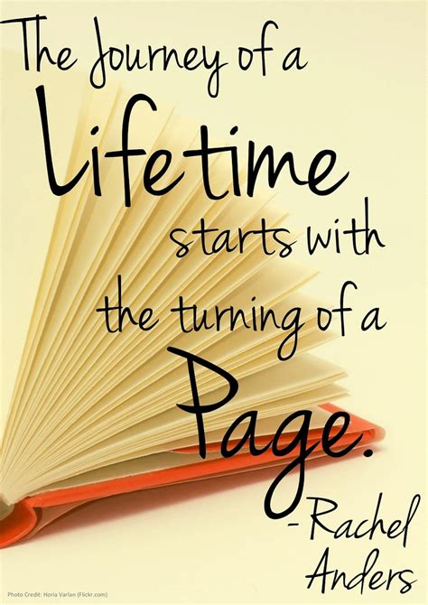 picture book quotes the journey of a lifetime starts with the turning of a
