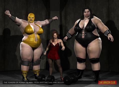 giantess tag towers of power giantess tag team by