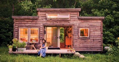 tine house tiny house tiny footprint recycled materials boost the