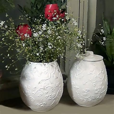 paper mache craft ideas for home dzine craft ideas make these easy paper mache pots