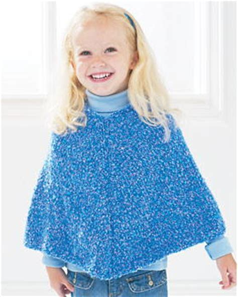 knit child poncho patterns free easy knit poncho favecrafts