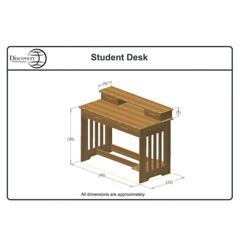 student desk dimensions one honey captains bed one student desk with chair